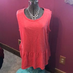 Sleeveless top!!!   NEW WITH TAGS!!!